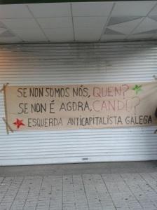 @s anticapitalistas na Folga Xeral en Vigo