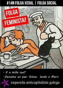 Cartaces #14N folga xeral | folga social