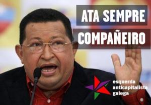 Solidariedade co pobo venezolano ante a morte de Hugo Chávez