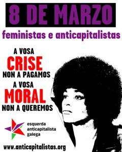 Convocatorias da Marcha Mundial das Mulleres para este 8 de marzo