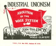 IWW abolition of the wage system